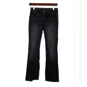 NYDJ Slim bootcut Dark Blue wash Size OP
